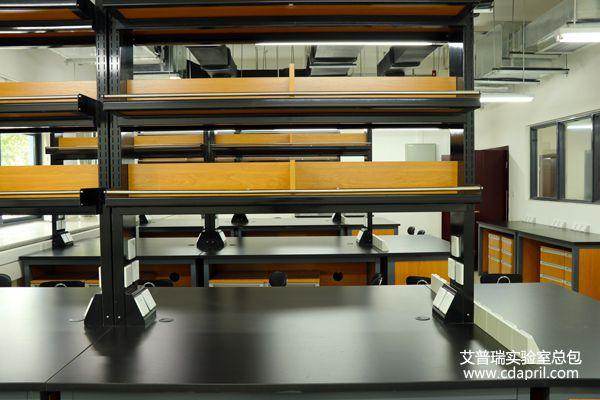钢木实验台台面结构