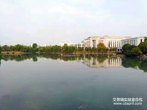 电子科技大学校园风景