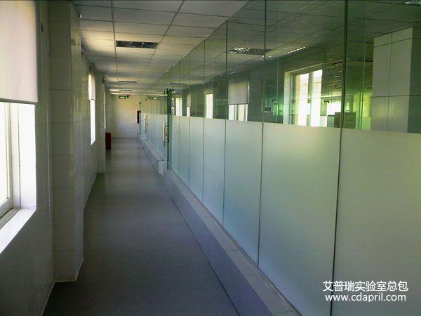 广元市中心血站检测实验室装修1