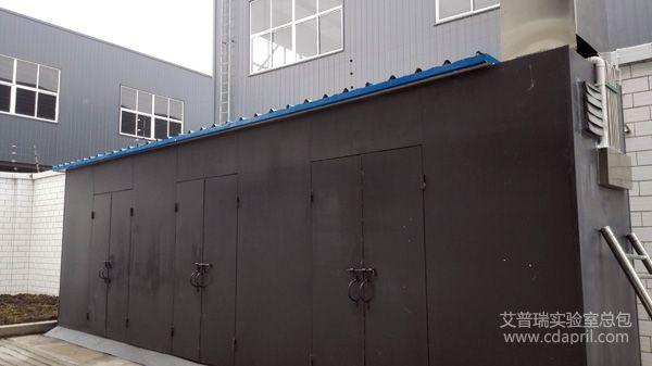 中石油实验室气瓶室建设(四川泸州)