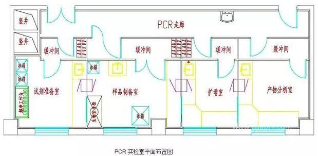 PCR基因扩增实验室设计