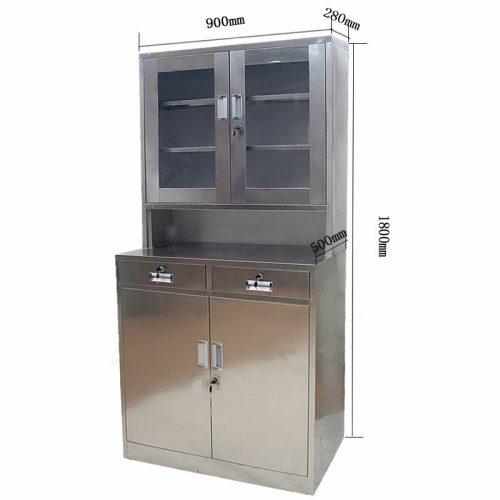 不锈钢文件柜 APR-BX-W2
