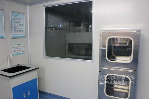 内江市中心血站实验室建设