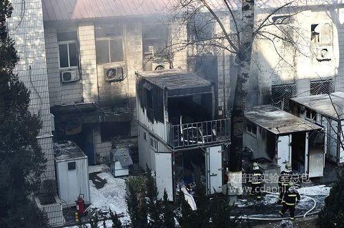 12月26日北交大环境工程系实验室发生爆炸现场,3名学生遇难
