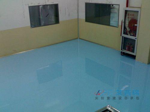 常见的实验室地面装修材料优缺点分析