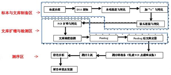 基因实验室平面布局工作流程(www.cdapril.com)